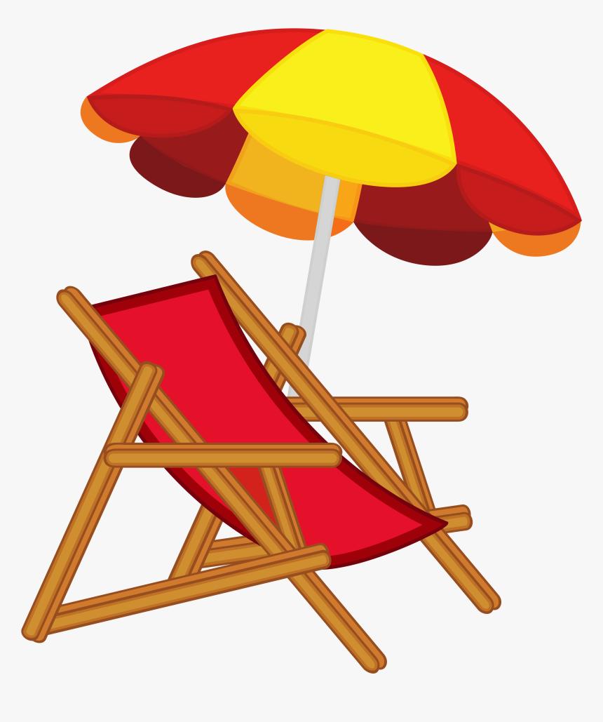 Summer Craft Ideas Pinterest Cartoon Beach Umbrella And Chair Hd Png Download Transparent Png Image Pngitem