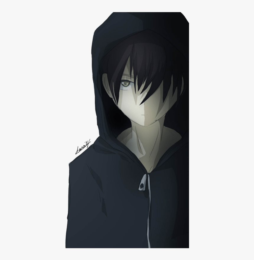 Sad Transparent Boy Cartoon Anime Sad Boy Hd Hd Png Download