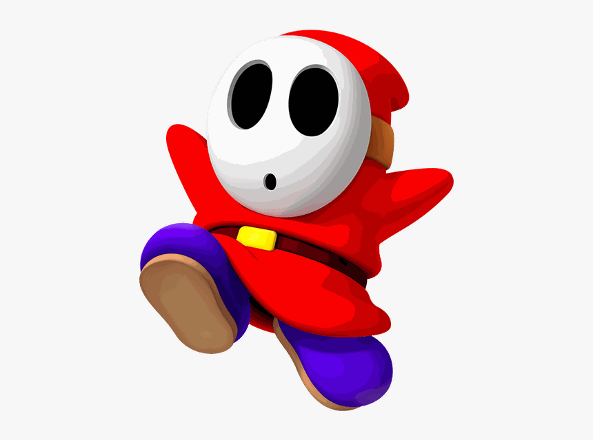 Shy Guy Png Shy Guy Mario Bros Transparent Png Transparent