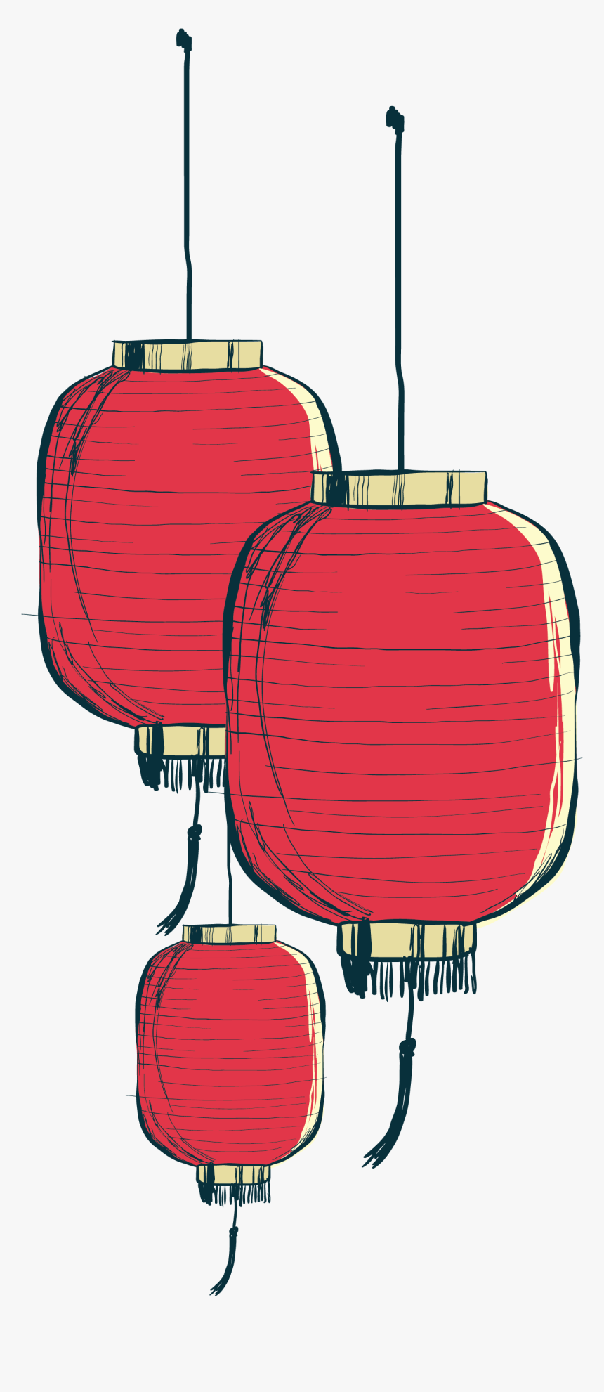 Painted Paper Chinese Hand Lantern Png Download Free Chinese Lantern Vector Png Transparent Png Transparent Png Image Pngitem