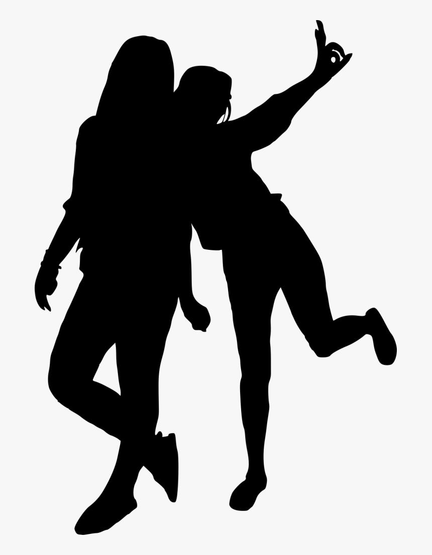 Portable Network Graphics Clip Art Silhouette Dance Girls Silhouette Png Transparent Png Transparent Png Image Pngitem