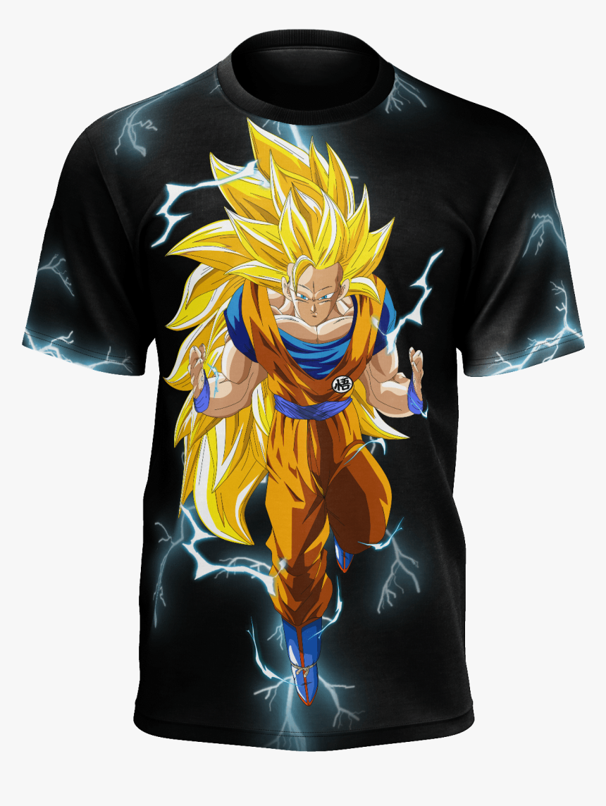 Transparent Dbz Lightning Png Goku Super Saiyan 3 Wallpaper Hd