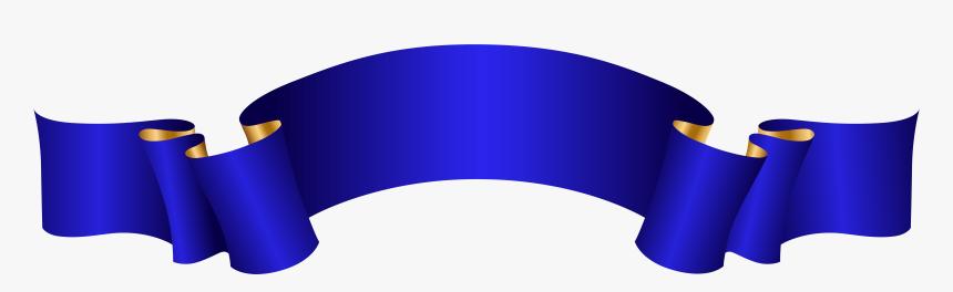 Elegant Banner Png Transparent Clipart , Png Download , Blue