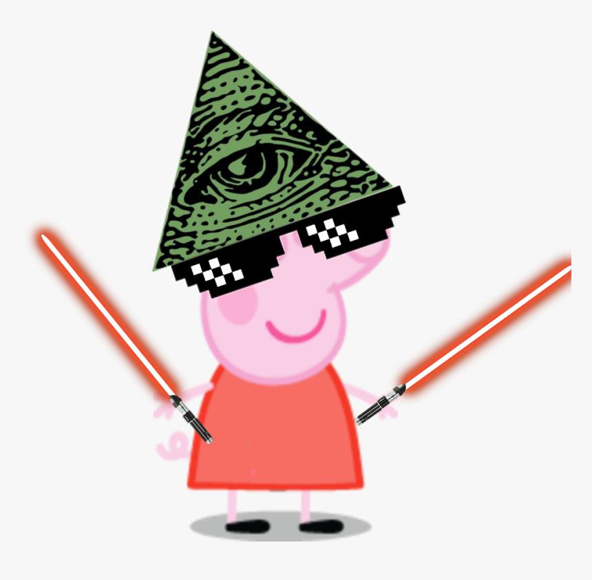 Freetoedit Ultimate Mlg Peppa Pig Savage Peppa Pig Meme Hd Png