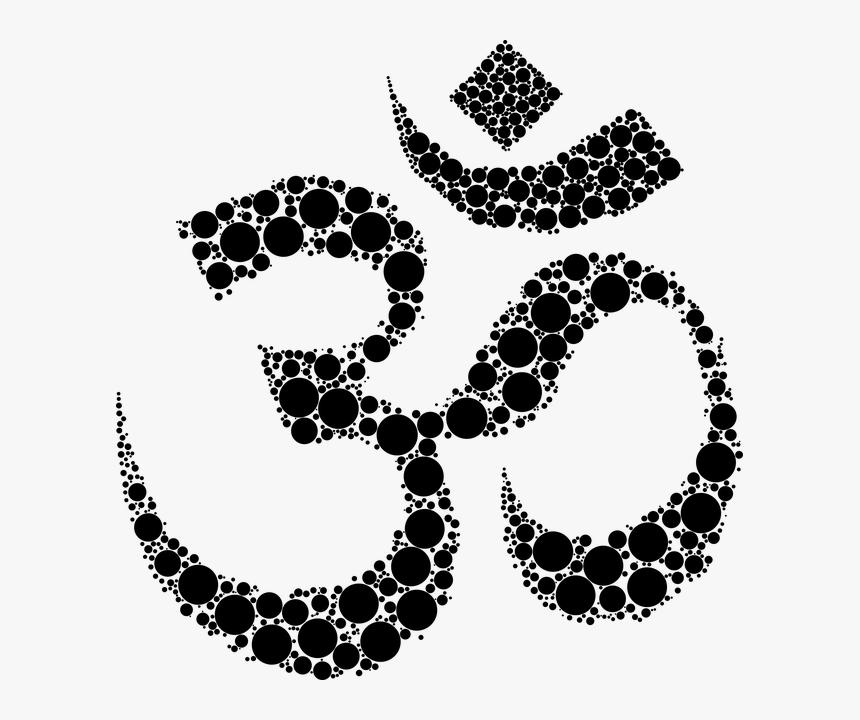 Om Symbol Sacred Spiritual Religion Yoga Hinduism Hindu Symbol For Strength Hd Png Download Transparent Png Image Pngitem