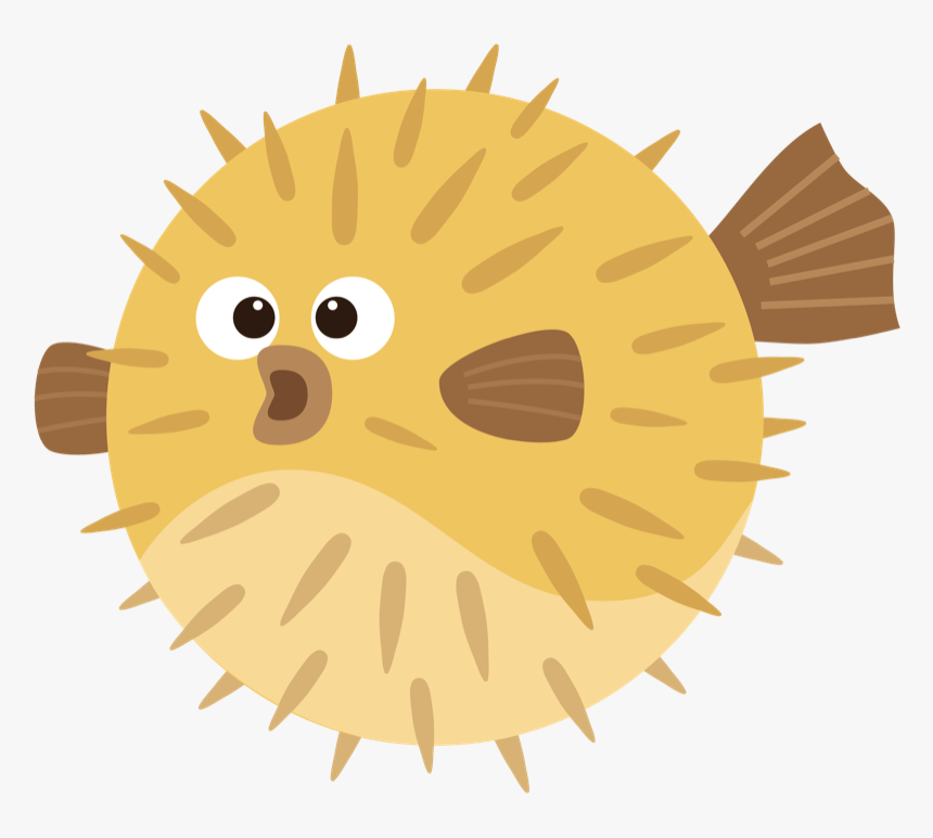 Clip Art Cartoon Puffer Fish Puffer Fish Cartoon Png Transparent Png Transparent Png Image Pngitem