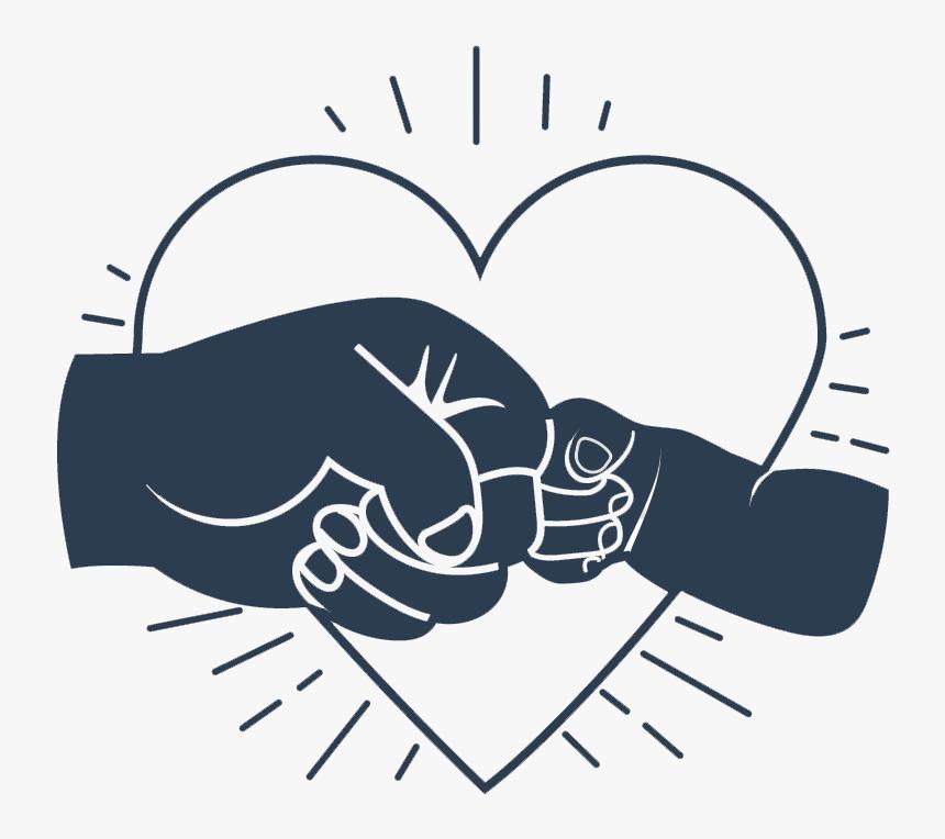 Fist Bump Love - Father Son Fist Bump Clipart, HD Png Download ...