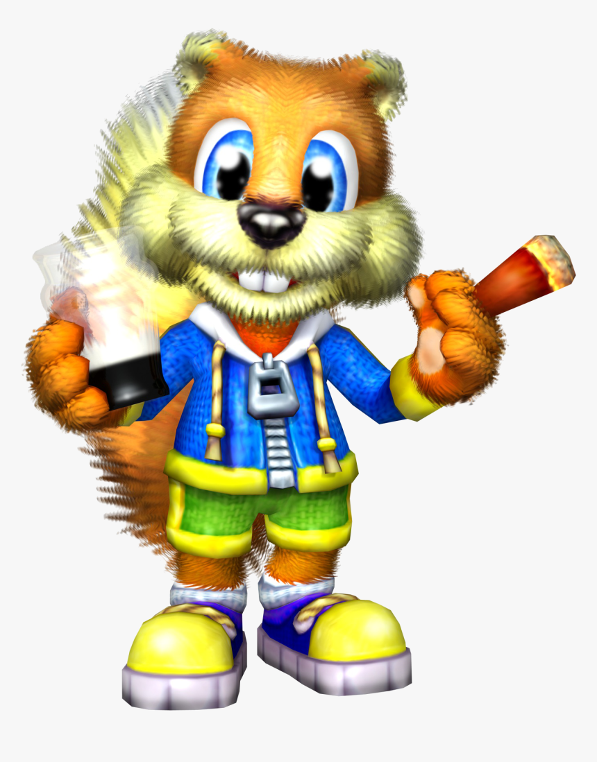 Conker Live And Reloaded Conker Hd Png Download Transparent Png